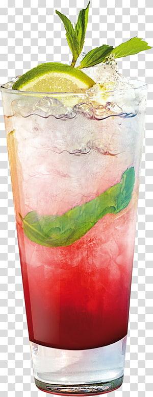 verre à liqueur rempli de citron vert, Cocktail Sea Breeze Mai Tai Bay Breeze Woo Woo, mojito png