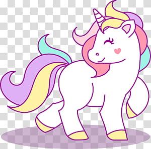 illustration de la Licorne, dessin papier Licorne Créature légendaire, anniversaire de la Licorne png